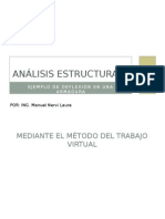 analisis de armadura.... metodo virtual
