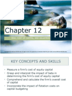 Corporate Finance Ch. 12