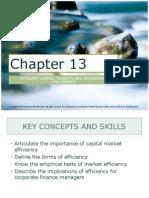Corporate Finance Ch. 13