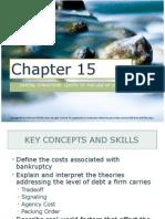 Corporate Finance Ch. 15