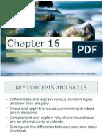 Corporate Finance Ch. 16