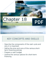 Corporate Finance Ch. 18