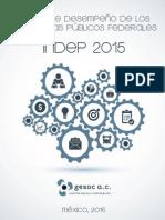 Reporte Índice de Desempeño INDEP 2015