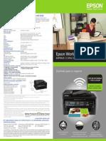 Especificaciones EPSON WorkForce WF-2532