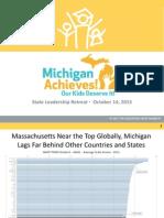 October 14 - Michigan Achieves Event Presentation