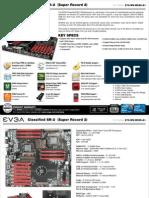 EVGA Classified SR-2 motherboard details