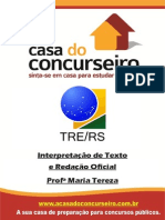 Apostila TRE.rs2014 Int.detex .RedaçãoOficial MariaTereza 2