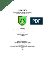 Cover Laringitis