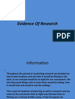 Evidence of Research Presentation