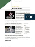 Papier Maché - Como Fazer_ _ FazFácil