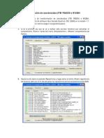 Transformacion de Coordenadas UTM PSAD56 a WGS84