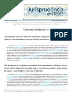 Jurisprudência Em Teses 11 - Concursos Públicos II