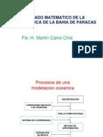 MODELADO MATEMATICO DE LA HIDRODINAMICA DE LA BAHIA DE PARACAS