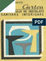 Cartea Muncitorului de Instalații Sanitare Interioare