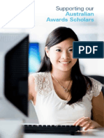 2016 UoM Australia Awards Scholars