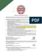Licencia FCAD - 2014