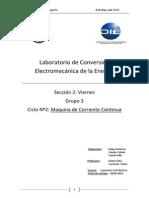 Informe 2015 Maquina Continua