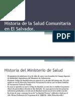 Historia de La Salud Comunitaria en El Salvador 2