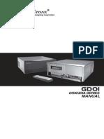 Silverstone Grandia GD-01 Manual