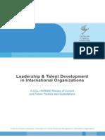 Leadership Talent Jan 2010