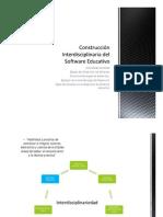 Construcción Interdisciplinaria Del Software Educativo