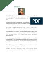 Biografía de José Antonio Páez