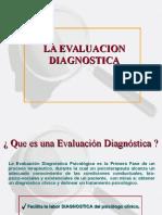 Evaluación clínica diagnóstica