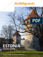 Country Profile of ESTONIA in English