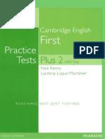 Cambridge English Practice Tests Plus First 2 NE 2014 209p
