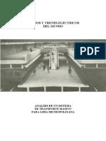 Metros y Trenes Electricos Mundo