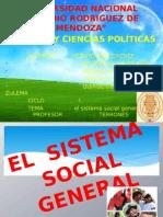 El Sistema Social General