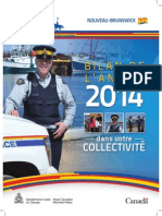 Bilan de l'Année 2014 -GRC Du N.-b.