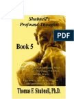 Profound Thoughts Book 5