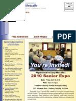 Metcalfe Spring 2010 Special Report to Senior Citizens
