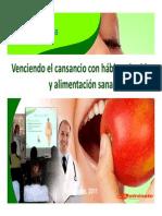 Presentación Vida Saludable y Cansancio