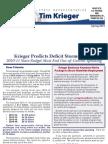 Krieger Spring 2010 Newsletter
