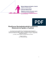 Planning for Deinstitutionalization and Child Care System Reform ROM