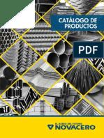 Catalogo 2015CATALOGO NOVACERO Productos Novacero