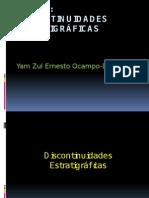Discontinuidades Estratigraficas