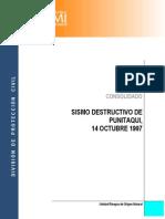 Sismo Destructivo Punitaqui 1997 - Coquimbo