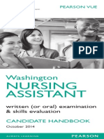 Washington State CNA Skills Booklet