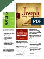 Joseph 3 Gen 37-1-5 Handout 101815