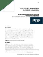 GeneticaYPsicologia - El nuevo Paradigma