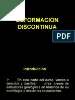 DEFORMACION DISCONTINUA
