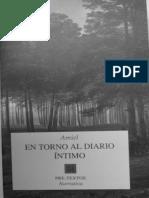 Amiel Frederich - En Torno Al Diario Intimo