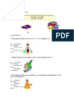 Sustantivo Formacion Del Plural