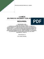 Resumen de La Meta (Autoguardado)