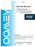 Washing Mashine DWD-M-1051-sm