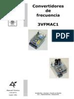 convertidores de frecuencia 3VFEs
