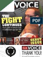 The Georgia Voice - 3/19/10 Vol. 1, Issue 1